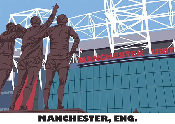 Manchester United man utd united Denis Law Bobby Charlton george best  MUFC old trafford manchester Manchester tourism