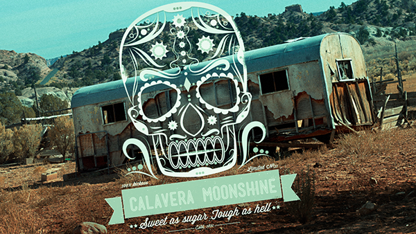 Moonshiners Logo Calavera Moonshine Logo