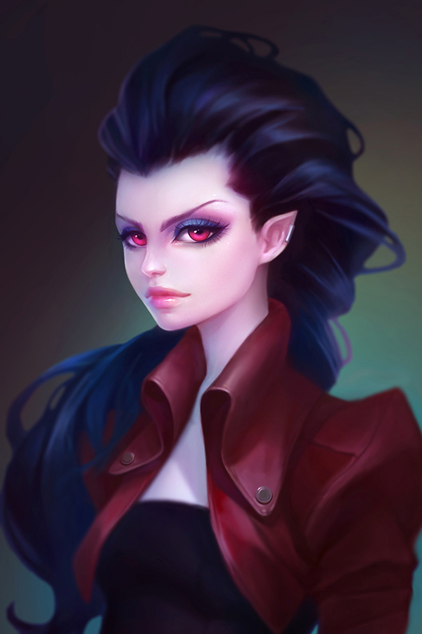 аниме картинки девушки-вампиры