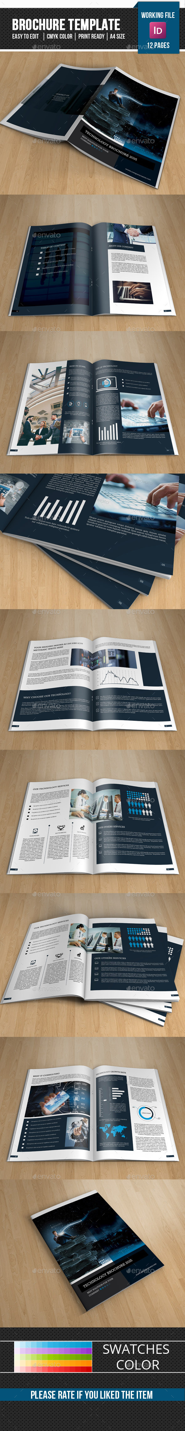 Technology Brochure Template On Behance - Technology brochure template