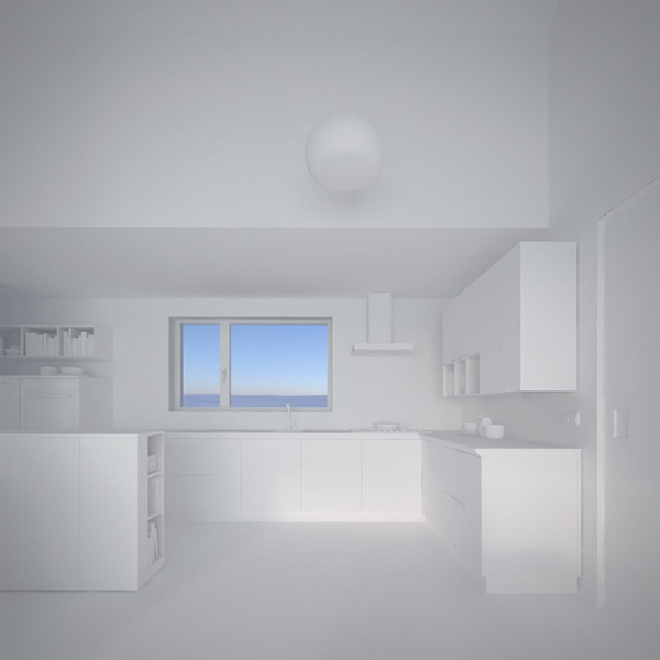 Maison simon visualisation on behance for Interior design lighting quiz
