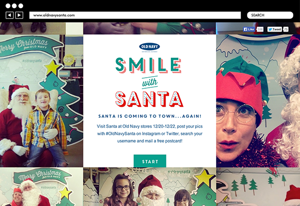 website designed for old navy with sew creative - Old Navy Christmas Eve Hours