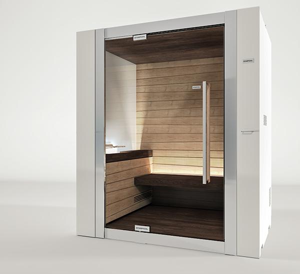3D CG Render rendering Wellness Sauna Spa design products FormZ Artlantis