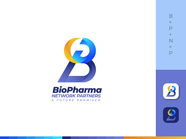 BP Modern letter logo design - Business Logo 2021