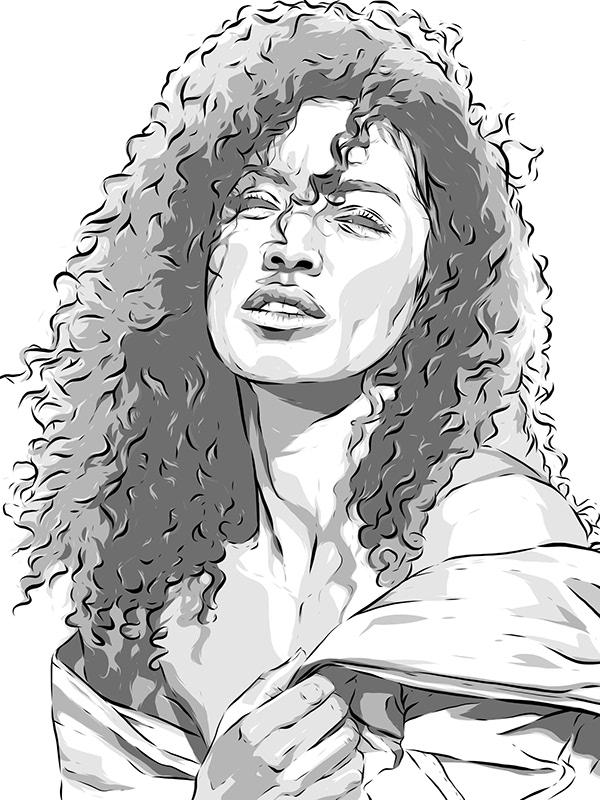 Adobe Draw Unknown Portrait Series Jade On Wacom Gallery