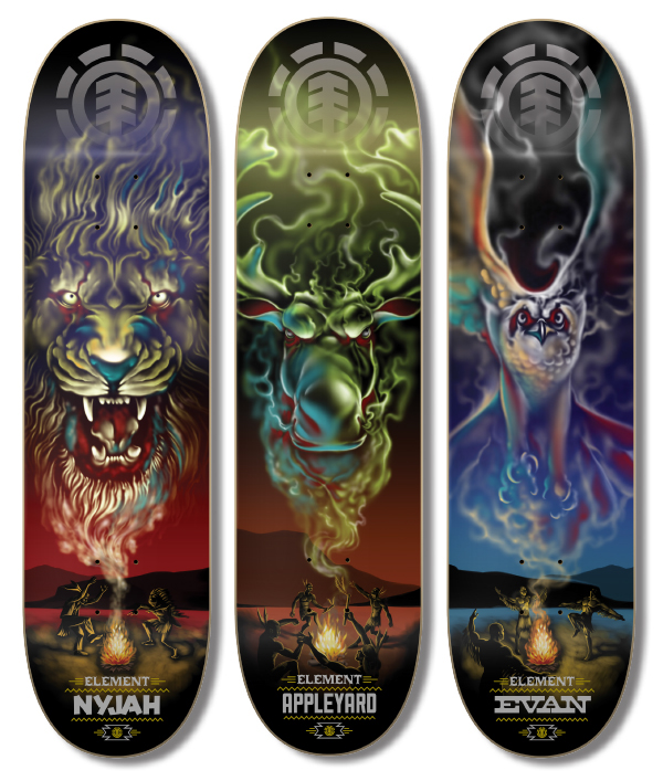 Element Skateboards Graphic Design