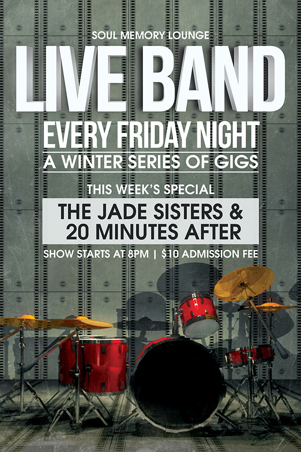 Live Band Gigs Flyer on Behance