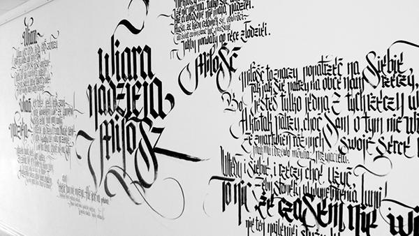 calligraffiti Custom Lettering logo Performance tattoo