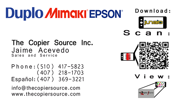 The Copier Source Inc Business Cards On Behance
