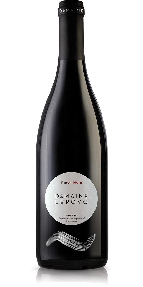 wine Label brush stroke Domaine lepovo luxury