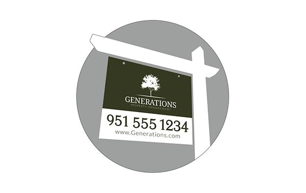 real estate property management Logo Design illustrative design Tree  watercolor Identity System