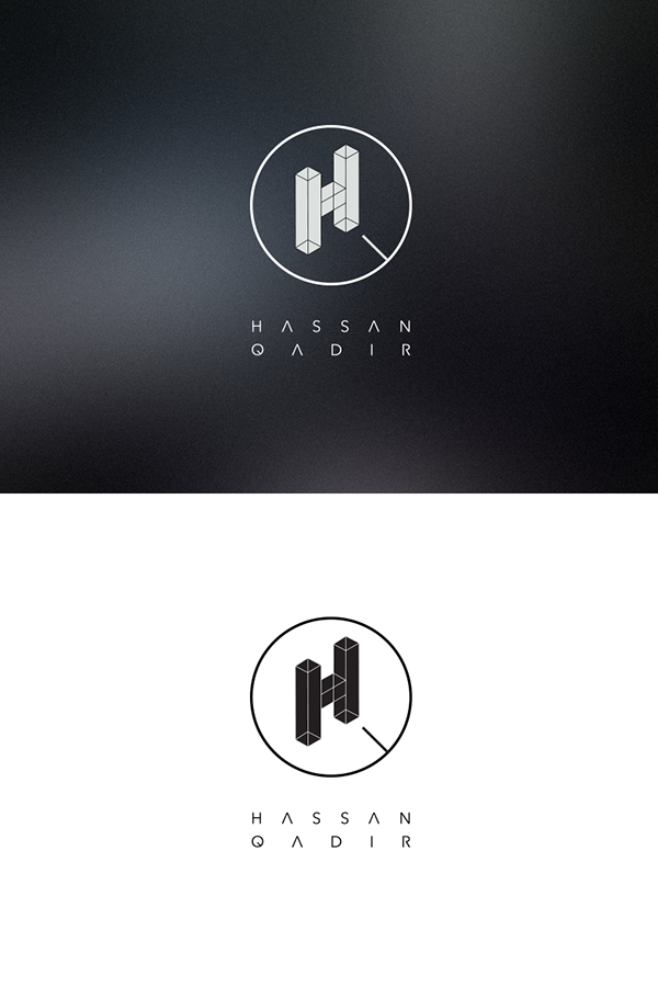 Dj hq hassan qadir logo design on adweek talent gallery for Amazing house music
