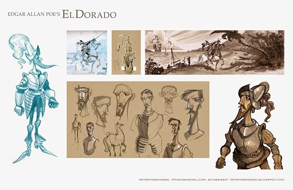Animation Character Design Portfolio : Art center portfolio on behance