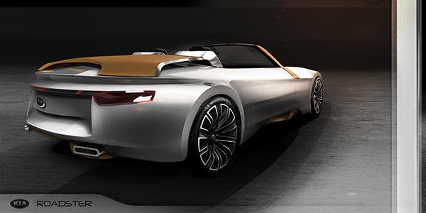 kia roadster concept on behance. Black Bedroom Furniture Sets. Home Design Ideas
