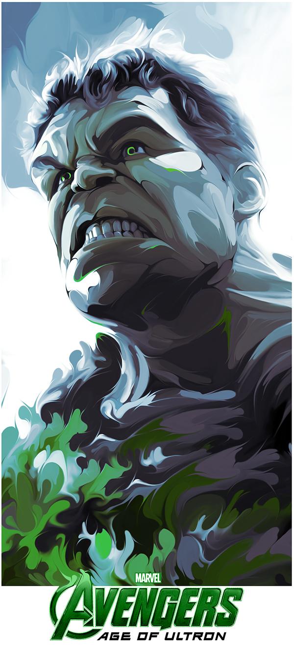 Poster Posse Age of Ultron Tribute by Joe Vetoe
