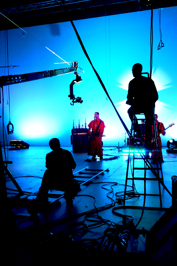 making of clip union jack music video