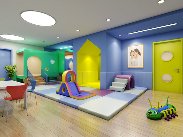 Nanjing 61 space preschool and kindergarten design on behance for Play school interior design ideas