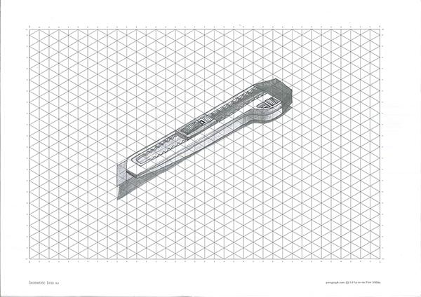 isometric sketch