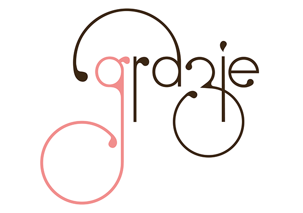 grazie truffle chocolates logo on behance