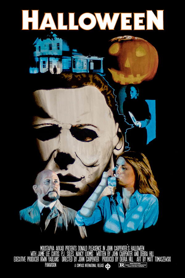 Halloween Movie Poster Halloween Movie Poster on