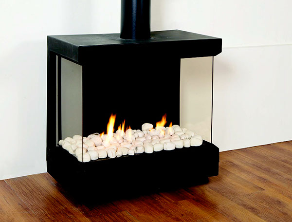 Stand Alone Fireplace By Ortal Usa On Behance