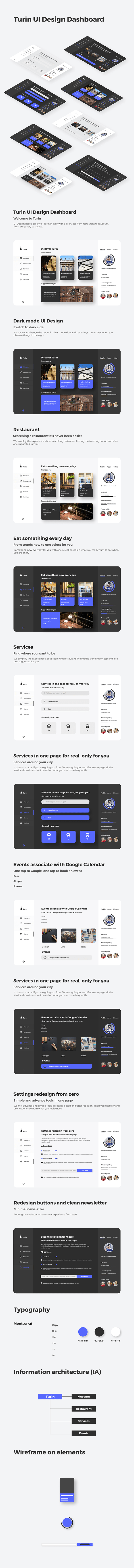 Turin UI Design Dashboard
