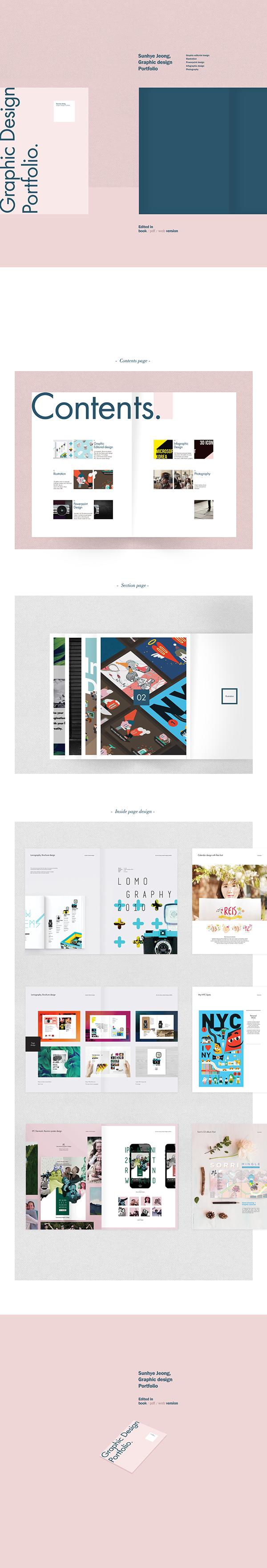 有設計感的48張作品集設計欣賞