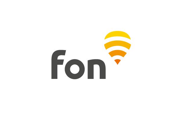 Fon wifi network Global diseño Character personajes agencia identidad
