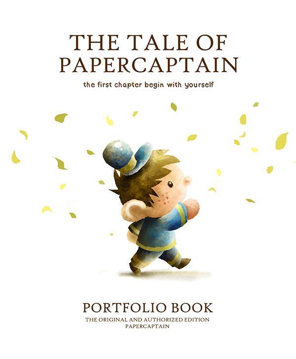 papercaptain portfolio book on behance