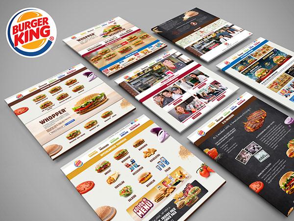 Responsive Web Design for Burger King Hungary
