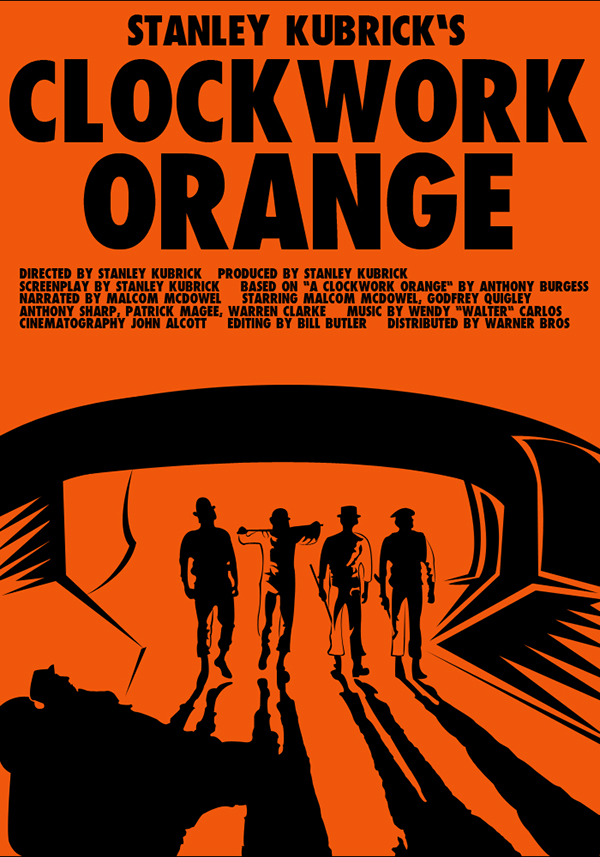 an analysis of metaphors in a clockwork orange by stanley kubric - analysis of kubrick's a clockwork orange stanley kubrick's 1971 film production of the anthony burgess novel, a clockwork orange, is a truly unforgettable film it is narrated by one of the most vicious characters ever put on screen, alex delarge.