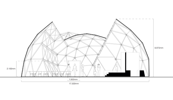 dome, deconstructed,bornholm,Peoples Meeting,wood