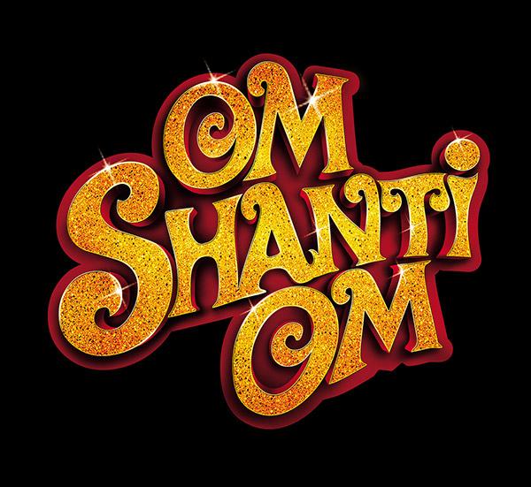 Om Shanti Om Movie Logo On Behance