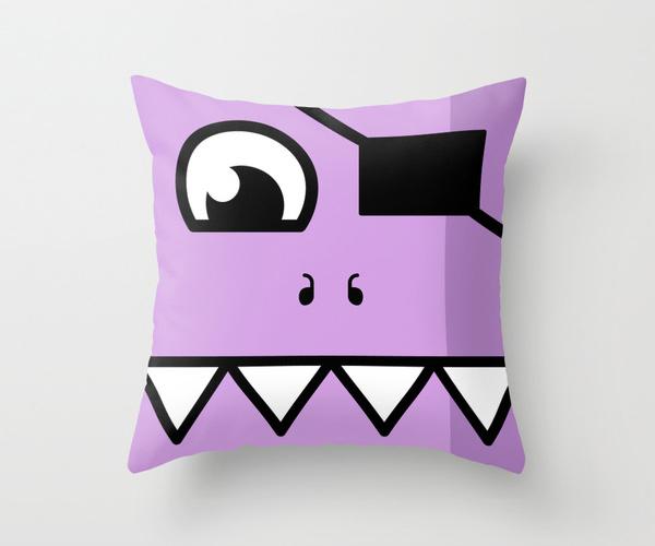 art print canvas monsters pillow Mug