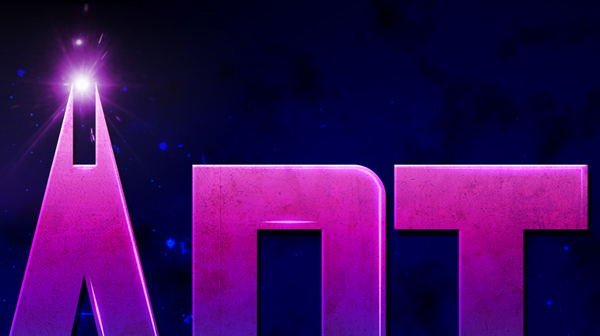 Outer space typography and designs on behance for Outer space stage design