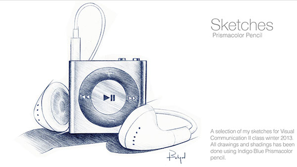 sketches earbud earphone ipod shuffle drill hotel Clouds Hotel Futuristic concept doodle sustainable energy