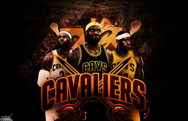 LeBron James CAVALIERS Wallpaper On Behance