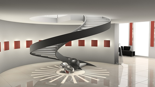 Architecture visualisation on behance for Cinema 4d architecture