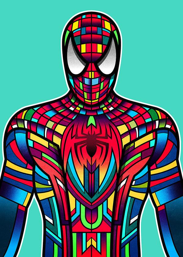 Marvel Character Design Behance : Wondercon on behance