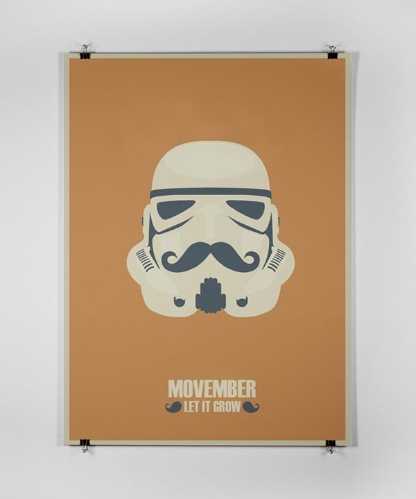 No shave november poster