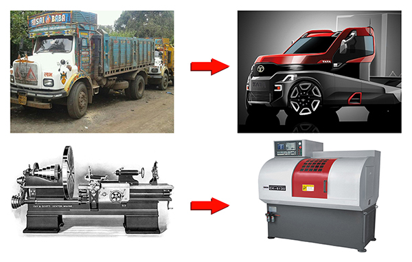 TATA Semi Forward Truck Concept