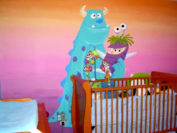 Tina Fino - Monsters Inc  Nursery