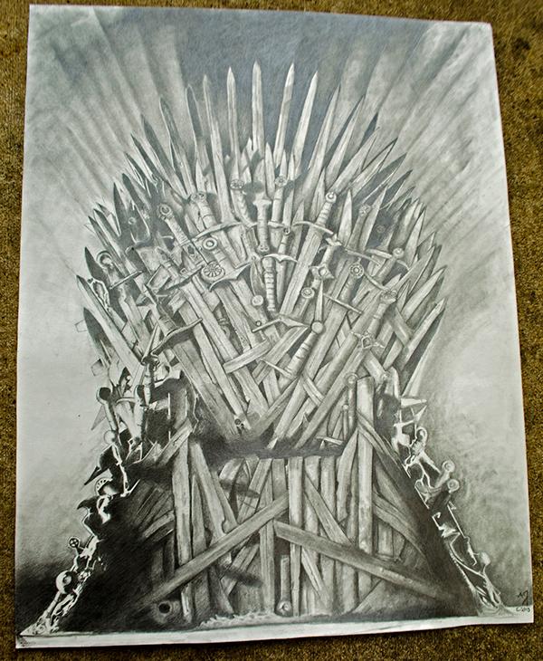 Iron Throne On Behance