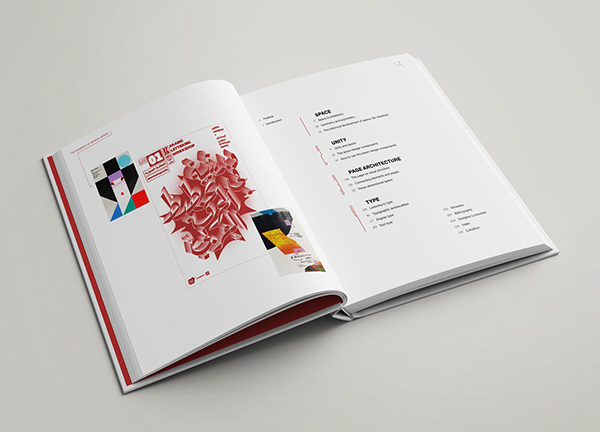Re-design of book cover, contents page, and one chapter