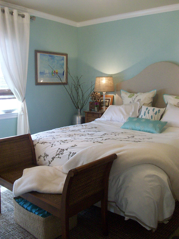 French Coastal Master Bedroom On Behance