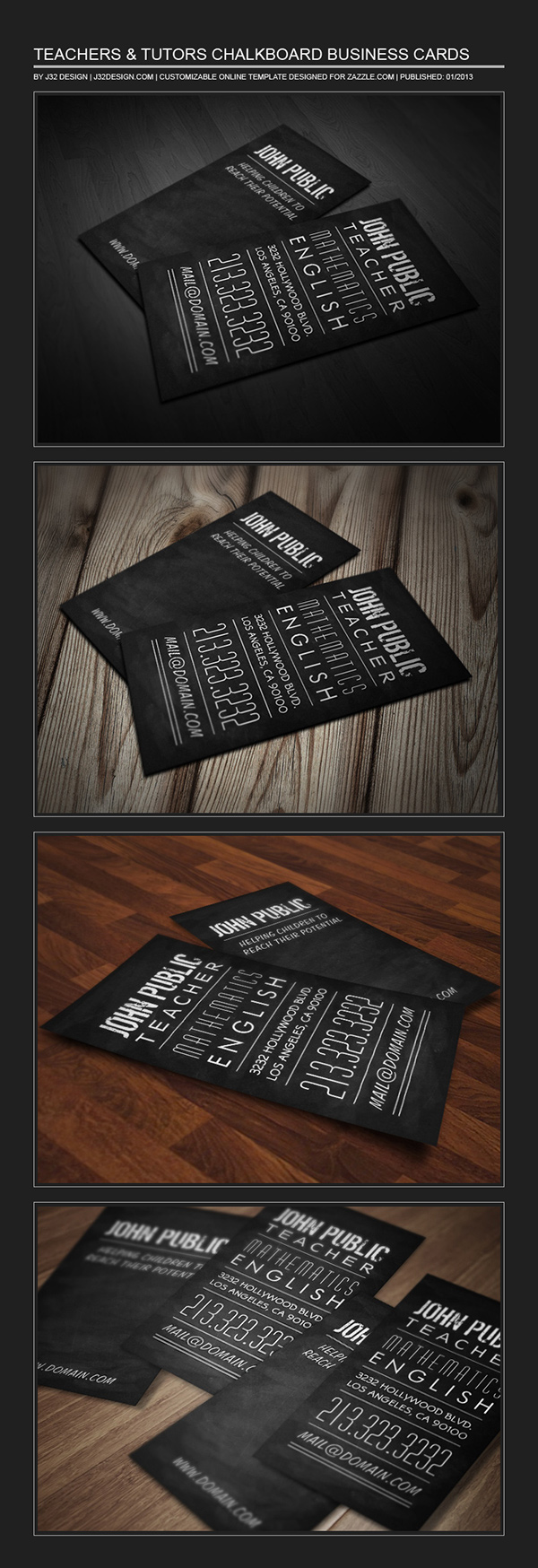 Teachers tutors chalkboard business card on behance name teacher tutor chalkboard business card business card info vertical 2x35 2 sided font dirty ego geometric book huxley vertical futura book colourmoves