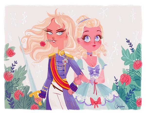 Character Design Jobs Toronto : Rose of versailles on behance