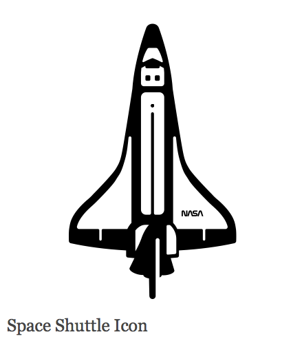 space shuttle icon - photo #9