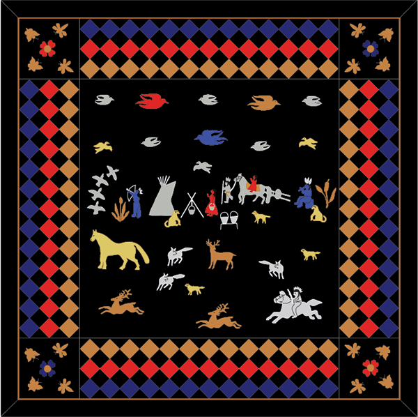 Pendleton Blankets on RISD Portfolios : pendleton quilts - Adamdwight.com