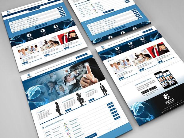 Responsive Web Design for Insertus-hr